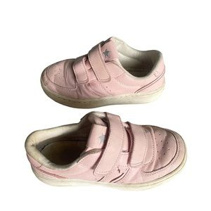 ZARA pink leather girls sneakers size 32